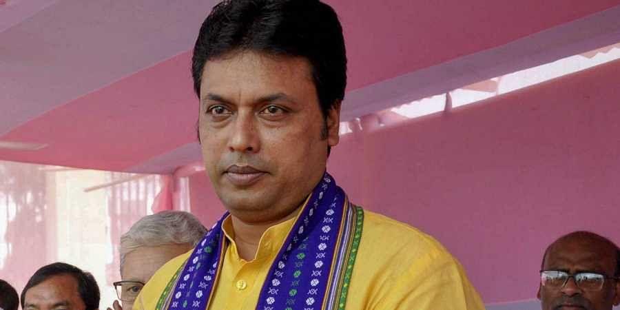 Tripura CM Biplab Kumar Deb
