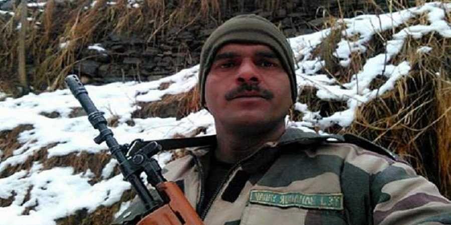 Suspended BSF jawan Tej Bahadur Yadav