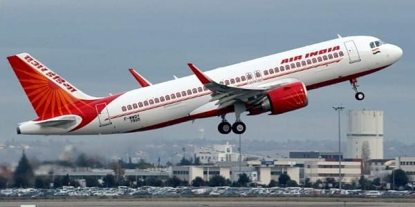 Image of an Air India flight used for representational purpose (File Photo | Reuters)