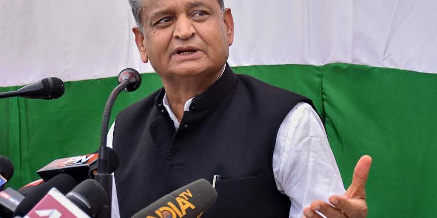 Senior Congress leader Ashok Gehlot