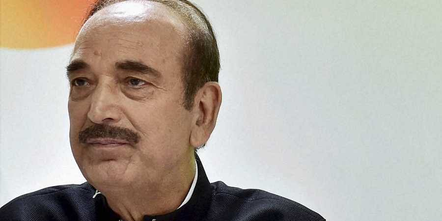 Ghulam Nabi Azad, leader of opposition in RS