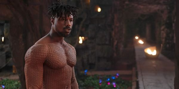 This image released by Disney shows Michael B. Jordan in a scene from Marvel Studios' 'Black Panther.'  (Photo: AP)