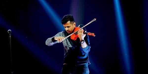 Singer-violinist Balabhaskar. (Photo |Facebook )