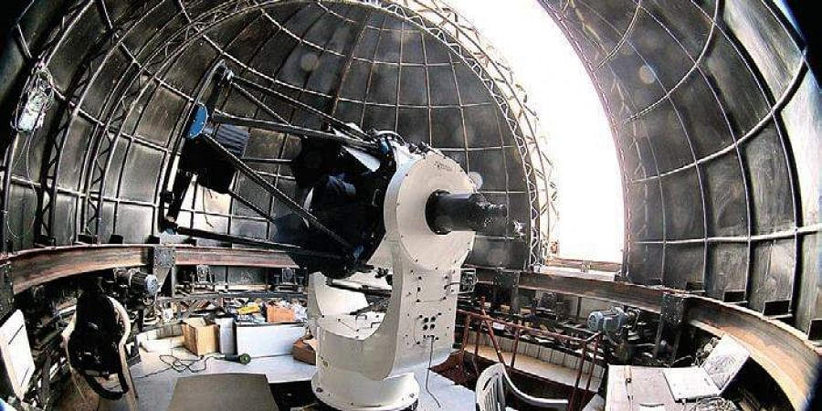 The country's first robotic telescope jointly constructed by Indian Institute of Astrophysics, Bengaluru, and IIT Bombay became operational in June at the Indian Astronomical Observatory at Hanle in Ladakh | GROWTH INDIA