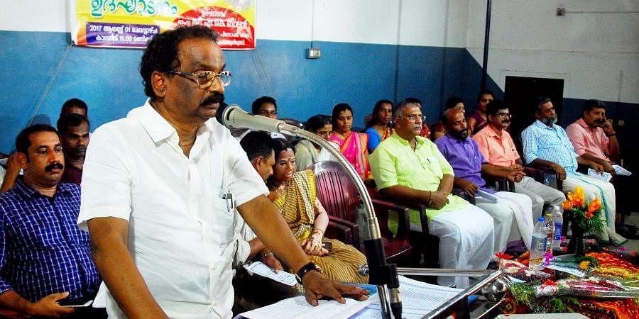 AK Balan, Kerala law minister