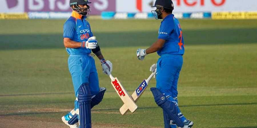 Virat Kohli And Rohit Sharma Starred With The Bat Bcci Twitter