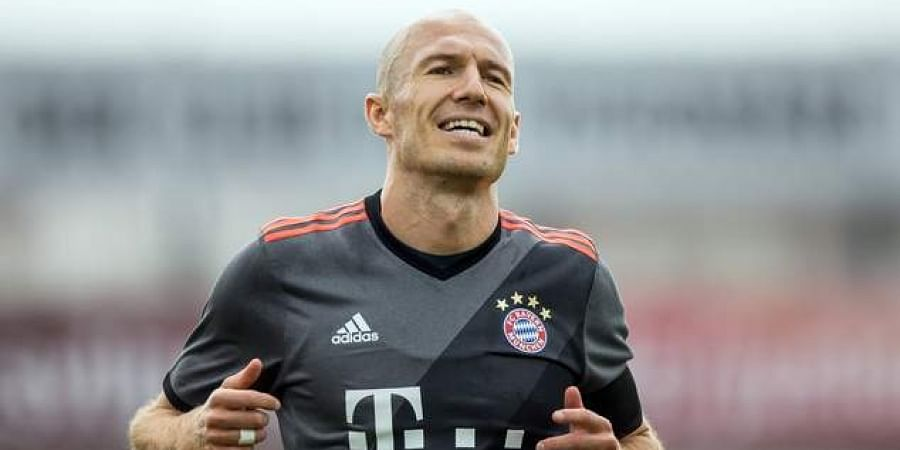 4eabb3474 Reports  Bayern Munich winger Arjen Robben eyeing Tokyo move- The ...