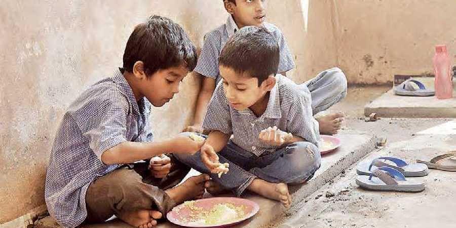 midday meal, anganwadi centre