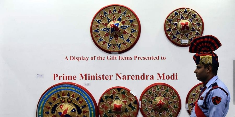 Auction of PM's gifts: Narendra Modi's painting, wooden bike bag