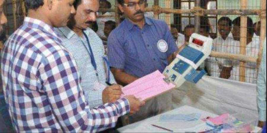 EVM counting