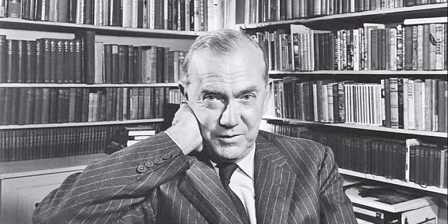 Writer Graham Greene.
