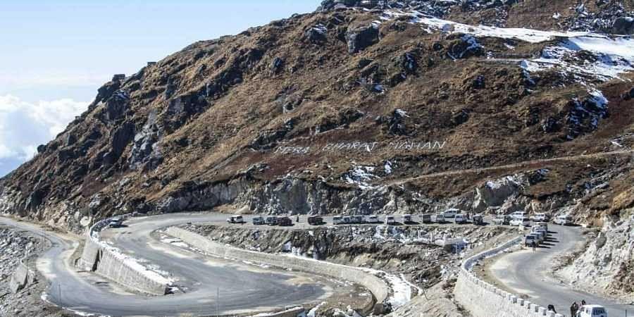 Nathu La route.
