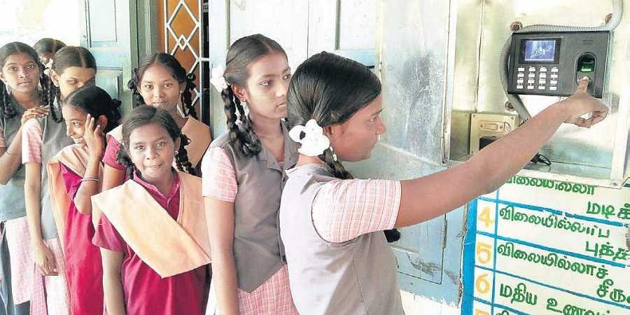 Tamil Nadu: All schools must install biometric attendance
