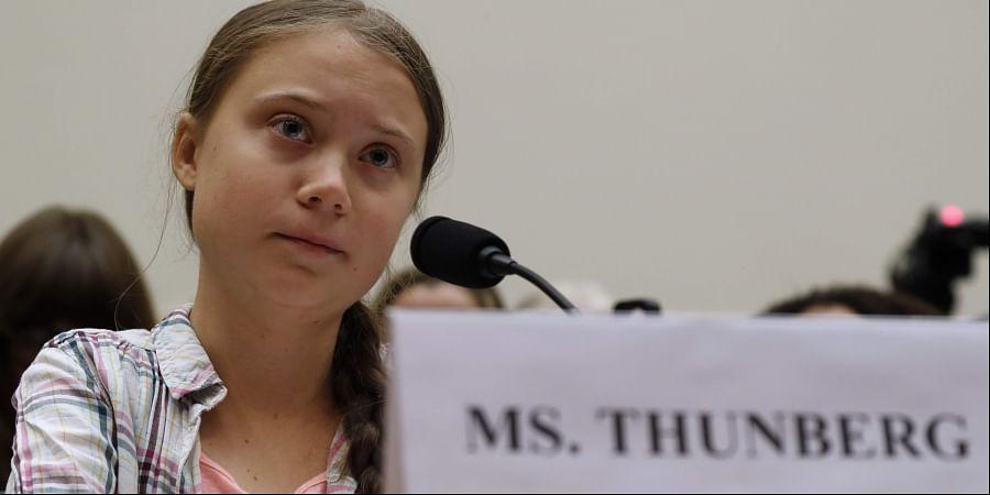Youth climate change activist Greta Thunberg