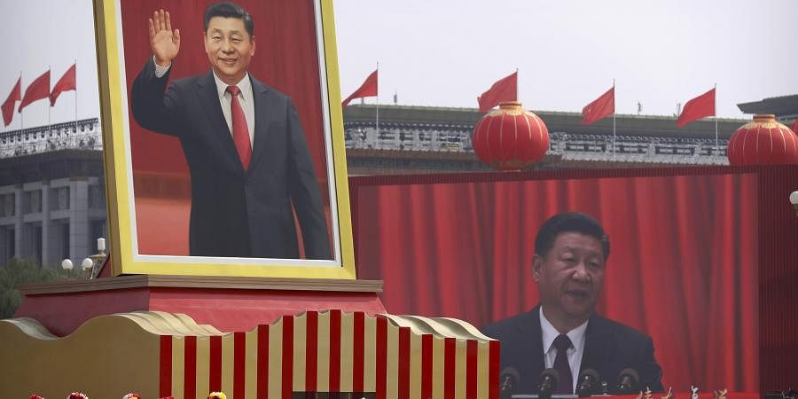China S National Day No Force Can Halt China S Advance Says President Xi Jinping The New Indian Express