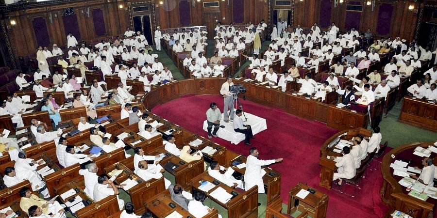 A view of Uttar Pradesh Assembly