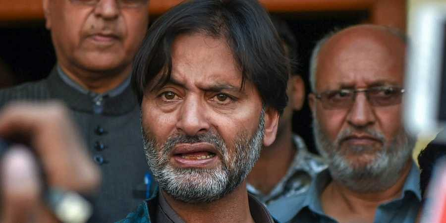 JKLF Chairman Mohammad Yasin Malik