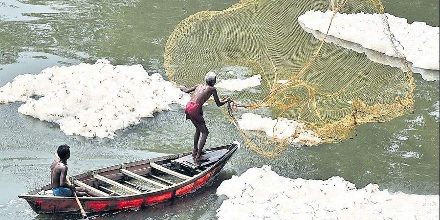 Yamuna river, pollution