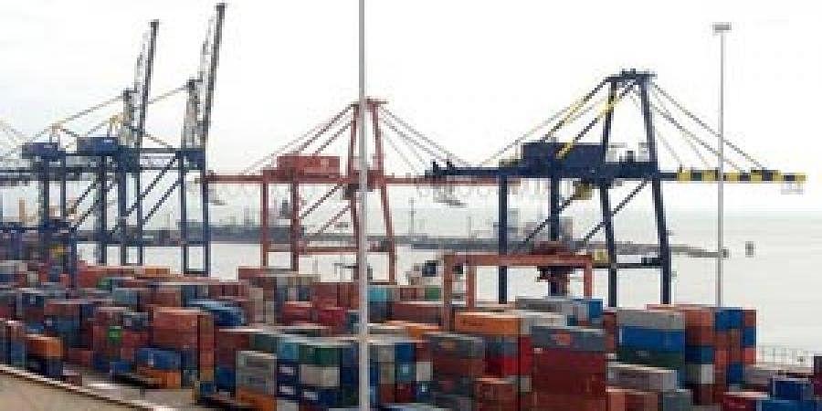 India port, exports