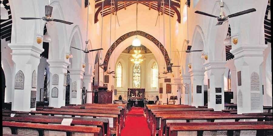 Representational photo of a church.