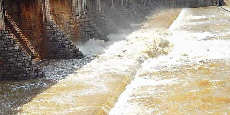Krishna river being released into Chennai