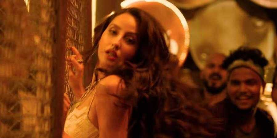 Nora Fatehi Tantalises Fans With Her Moves In Ek Toh Kum Zindagani For Marjavaan The New Indian Express