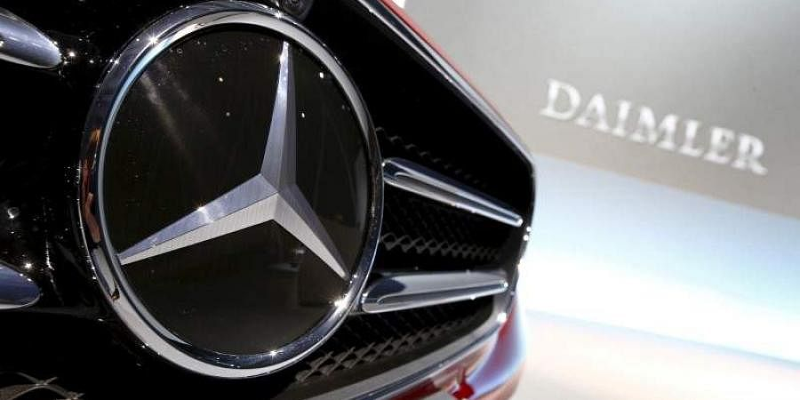 The Mercedes-Benz logo is seen before the company's annual news conference in Stuttgart, Germany, February 4, 2016. | (File | Reuters)
