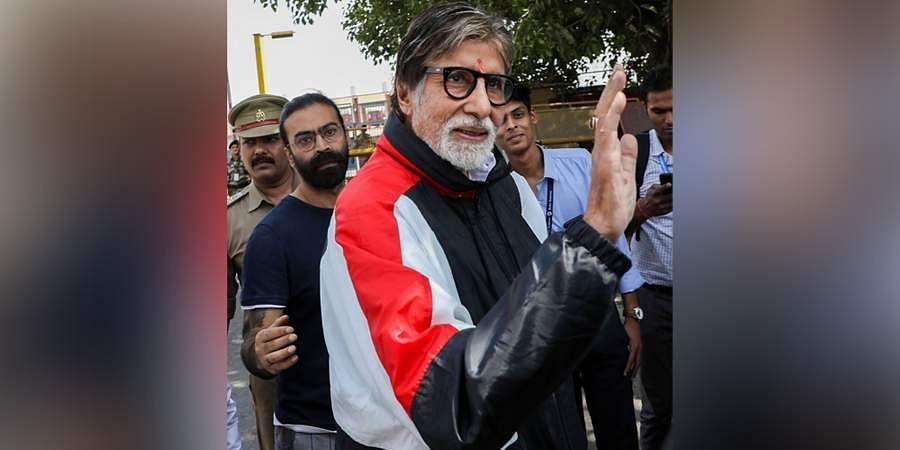 Bollywood superstar Amitabh Bachchan.