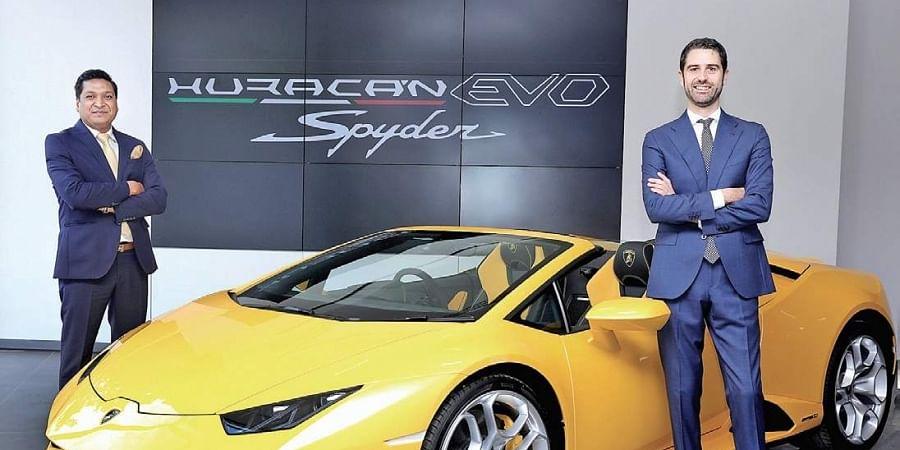 Lamborghini's Huracán EVO