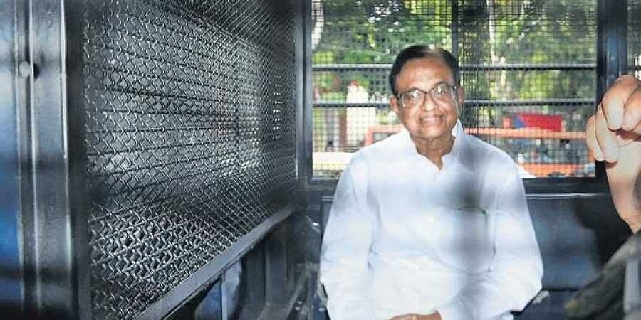 Former finance minister P Chidambaram is currently lodged in Tihar Jail