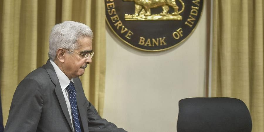 Reserve Bank of India RBI Governor Shaktikanta Das arrives for the RBI's fourth bi-monthly monetary policy review meeting of 2019-20 in Mumbai.