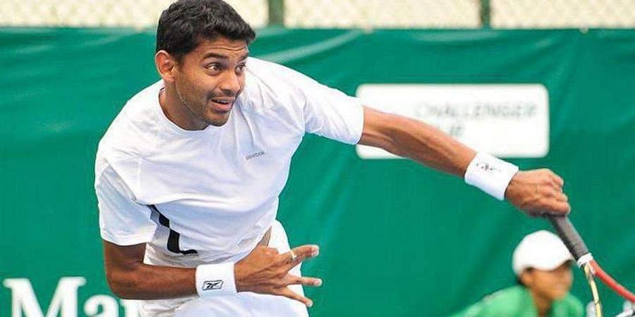 Indian tennis star Divij Sharan
