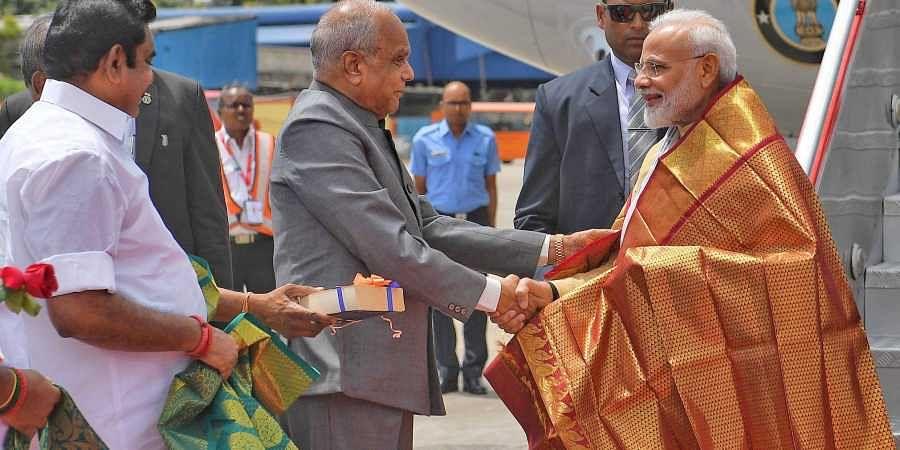 Narendra Modi in Chennai