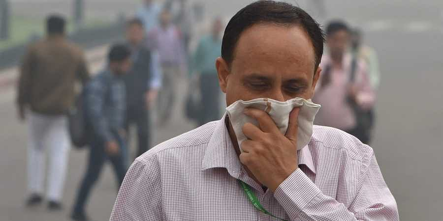 The city's AQI is predicted to slip to 239 on Saturday October 12.
