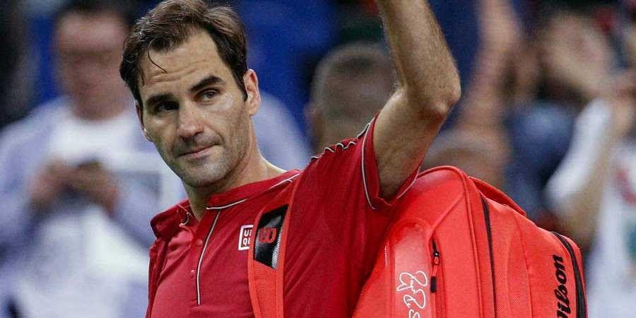 20-time Grand Slam champion Roger Federer