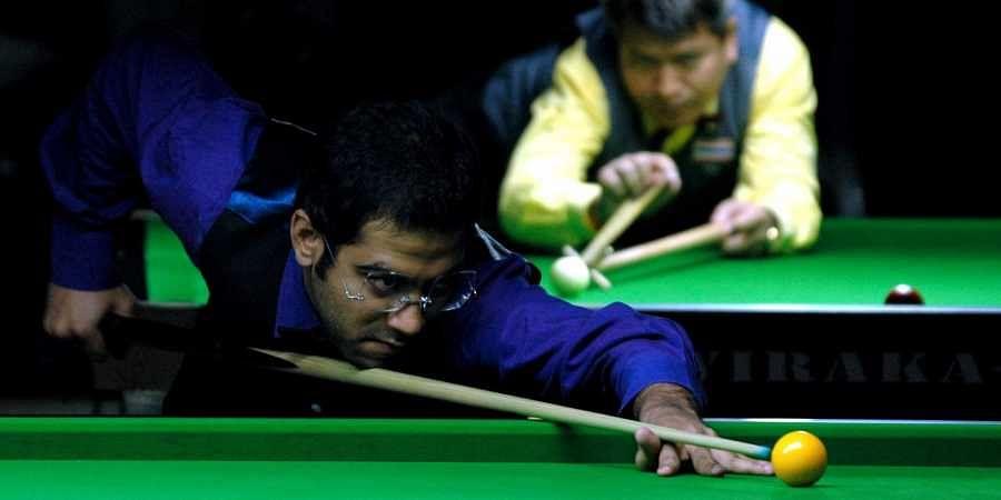 Indian billiards star Sourav Kothari