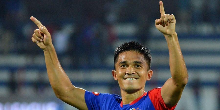 Bengaluru FC skipper Sunil Chhetri