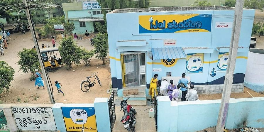 Water ATMs have come as a boon for people living in rural areas.