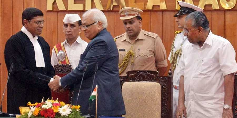 Justice S Manikumar sworn in as Chief Justice of Kerala High Court