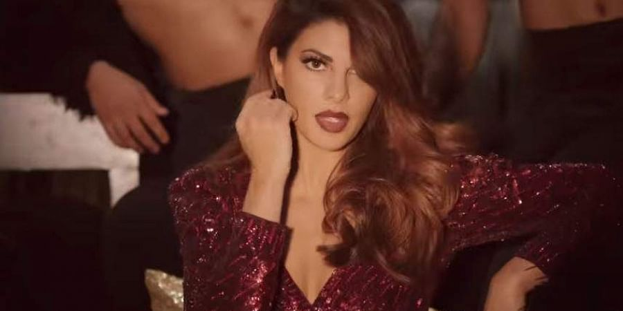 Actress Jacqueline Fernandez in 'Karma' song from 'Drive'.