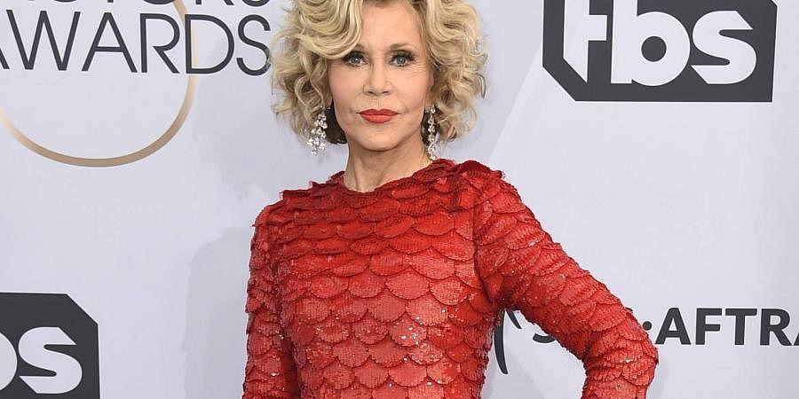 Actress Jane Fonda. (Photo   AP)