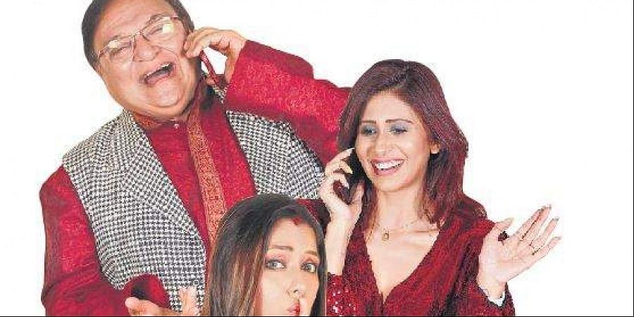Clockwise from top: Rakesh Bedi, Kishwar Merchant, Roopali Ganguly.