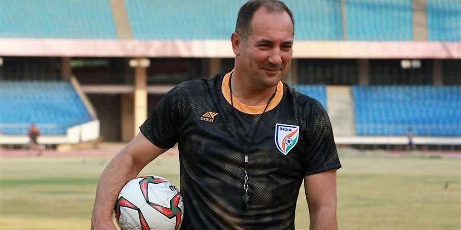 Indian football coach Igor Stimac