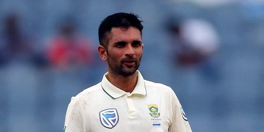 South African tail-ender Keshav Maharaj