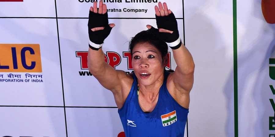 Seasoned boxer Mary Kom