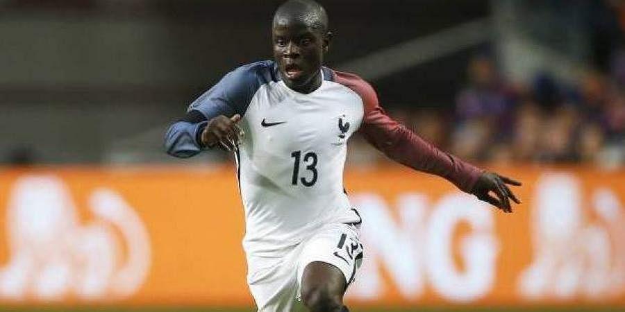 France midfielder N'Golo Kante
