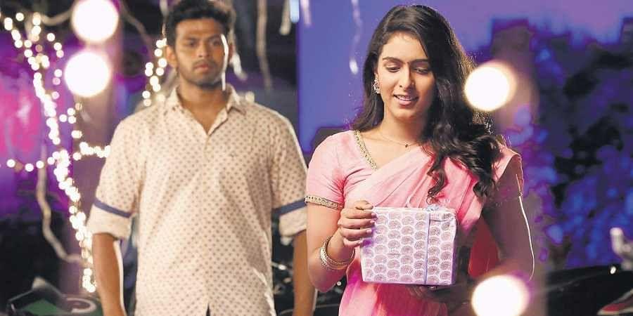 Varun and Samyuktha Hegde in 'Puppy'