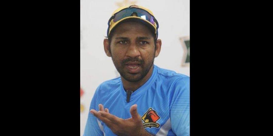 Pakistan captain Sarfaraz Ahmed