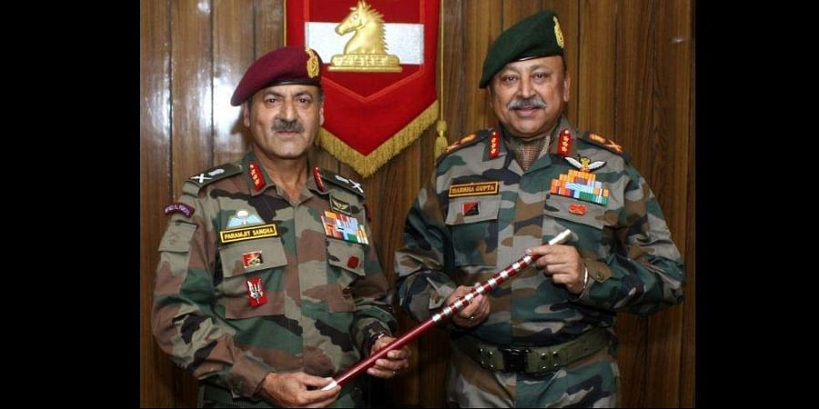 Lt Gen Harsha Gupta on Saturday took over the command of the White Knight Corps.