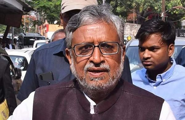 Angry with waterlogging, piling of garbage, people gherao Bihar Deputy CM Sushil Kumar Modi's house